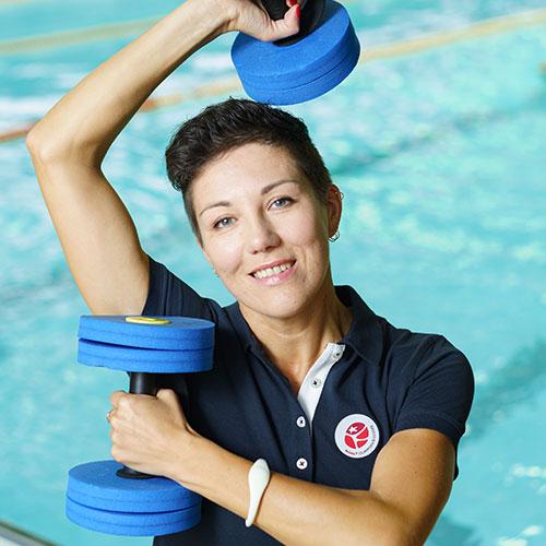 Rimi olimpiskais sporta centrs trenere Alla Fomenko