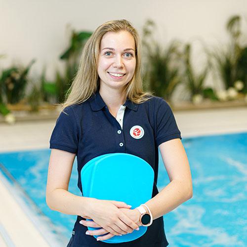 Rimi olimpiskais sporta centrs trenere Anna Jurcenoka
