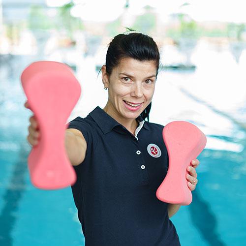 Rimi olimpiskais sporta centrs trenere Julija Ramazanova