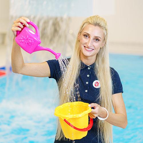 Rimi olimpiskais sporta centrs trenere Olga Abdulina