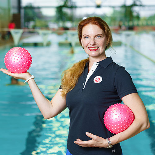 Rimi olimpiskais sporta centrs trenere Sandra Baglais
